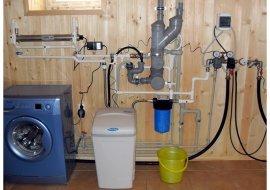 Очищение воды в частном доме